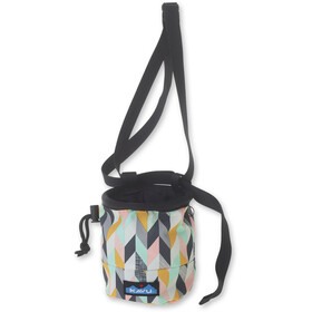 KAVU Peak Seeker Chalk Bag chevron sketch